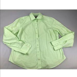Vineyard Vines Womens Long Sleeve Button Shirt XL